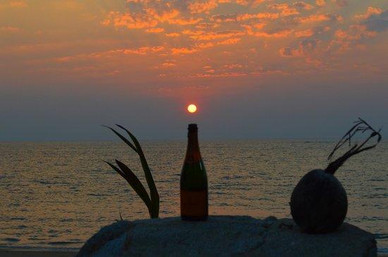 Khaolak Merlin Resort: sunset