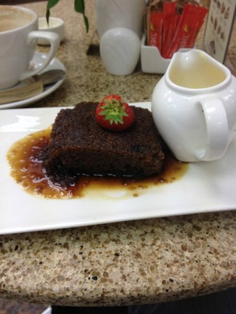 Leckenby's: Sticky toffee pudding and custard