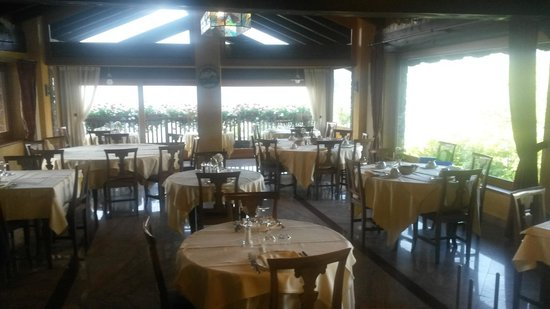 Hotel Les Combes : Ristorante