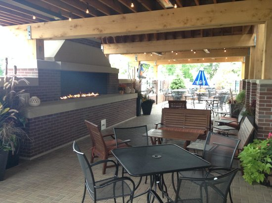 Visit our heated patio to extend a short Minnesota summer Picture