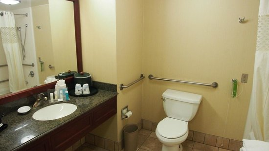 Hampton Inn Fishkill: Bathroom