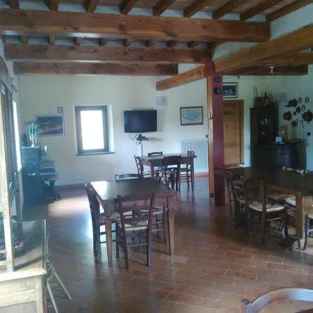 Agriturismo Foglie : Sala ristorante/colazione