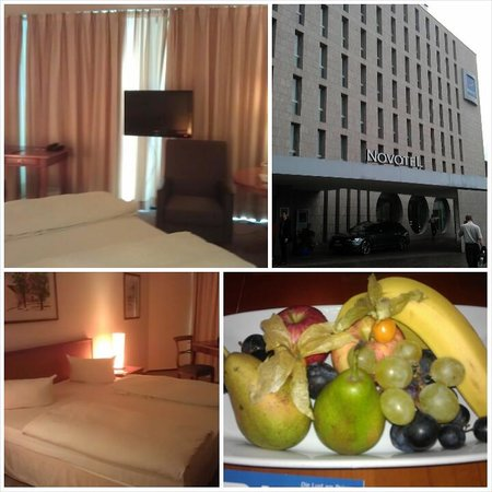 Novotel Freiburg: Comfortable large room