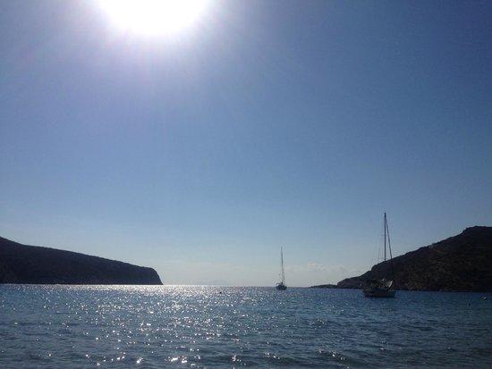 Vathi Beach: Vathi bay, Sifnos