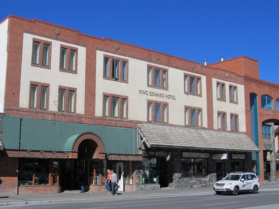 King Edward Hotel: Exterior View