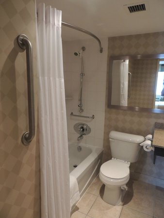 Quality Hotel: Queen Size Bedroom - Handicap Accessible Room - Washroom