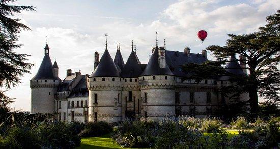 Chaumont-sur-Loire, Γαλλία: Vista externa do castelo