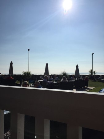The Waterside Restaurant: View from the outside terrace