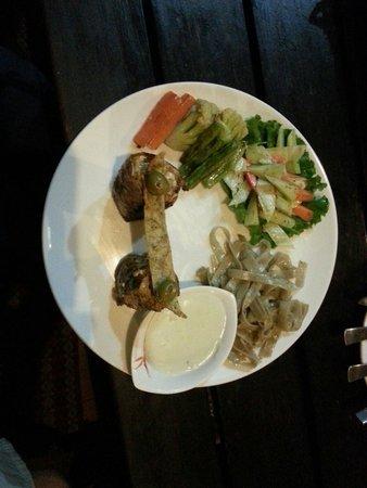 Dabali Thamel Pvt Ltd : The Bungy Jumper's chicken.  Very tasty.