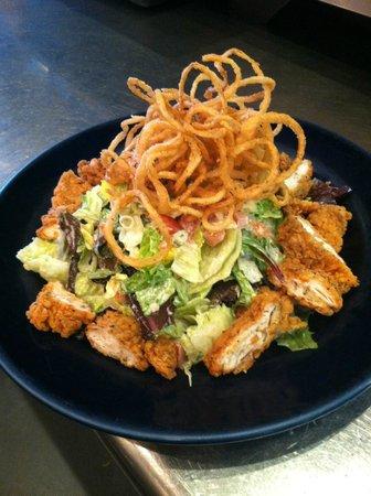 Smoke Modern BBQ: Fried Chicken Salad