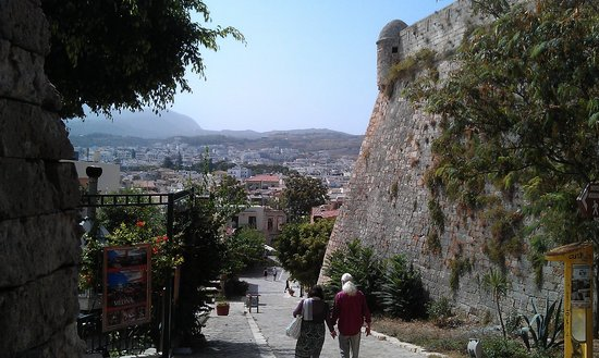 Melina Cafe Restaurant Rethymo Crete