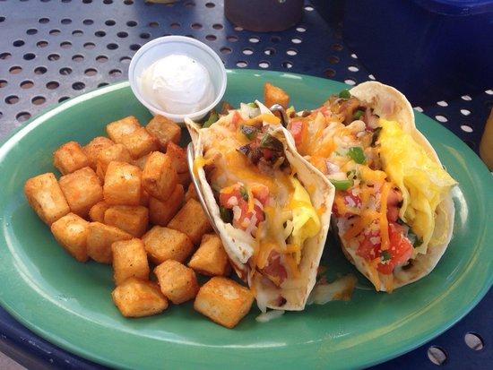 Bilmar Beach Cafe: Breakfast Taco