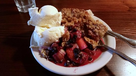 The Rustic Inn Cafe: North Shore berry
