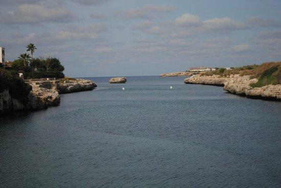 Cala Bona & Mar Blava Hotels: Vistas espectaculares desde la terraza del hotel