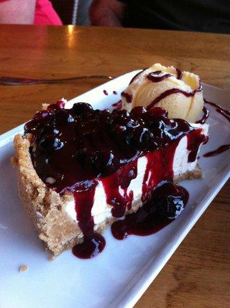 Monroe's : heerlijke cheesecake (toetje)