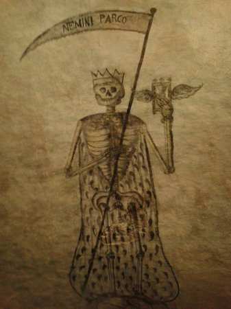Sant'Antonio Abate Church: The Reaper in the Gruft