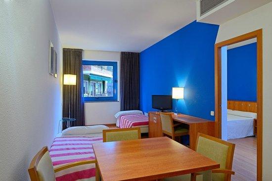 Foto de hotel acta azul barcelona barcelona habitacion Habitacion hotel barcelona