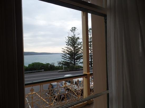 Grand Pacific Hotel Lorne: view from our room