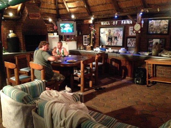 Akanan Guest House: the man cave!