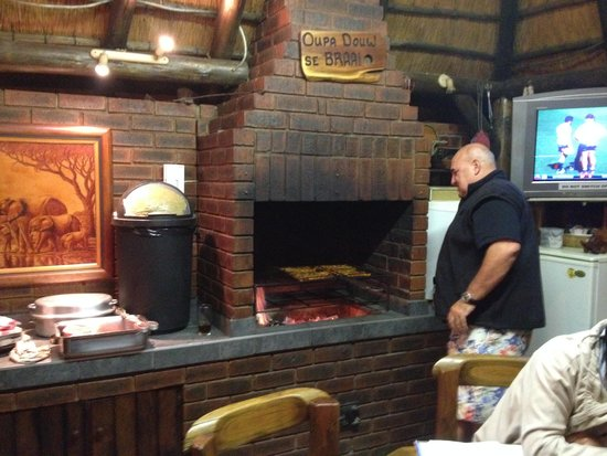 Akanan Guest House: A South African Braai! the best meat in the world!