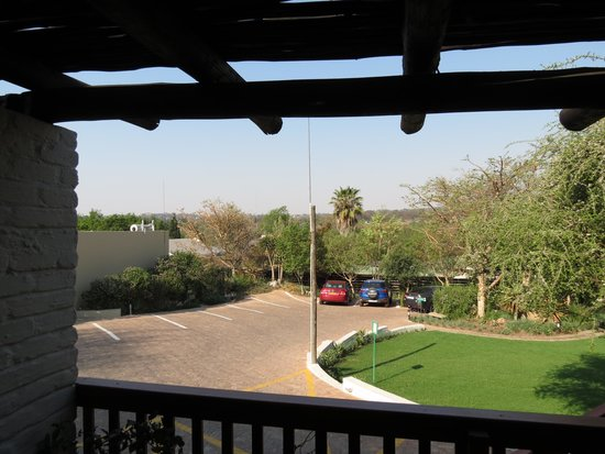 Rivonia Bed & Breakfast: Evening on the balcony
