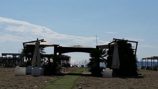 Grand Hotel Imperiale : Beach club
