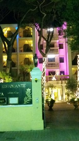 Grand Hotel Imperiale : GHI at night