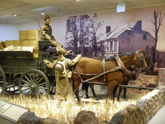 Newport News, VA: WW I-era logistical wagon