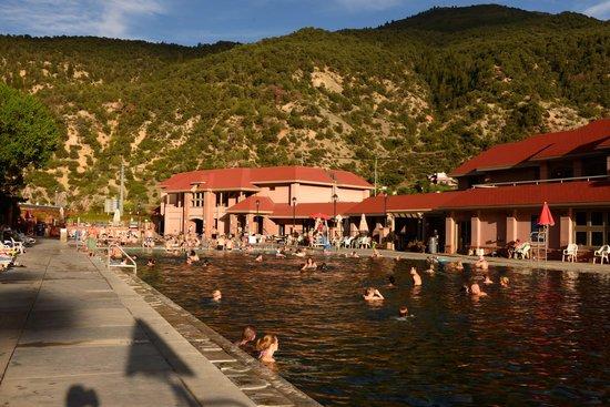 Glenwood Hot Springs Lodge: hot pools