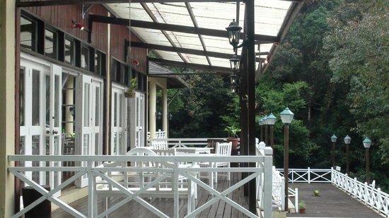 Sutera Sanctuary Lodges: The Restaurant
