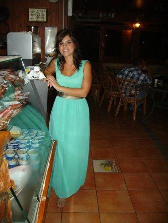 Residence Villalba : Giusy in abito da sera