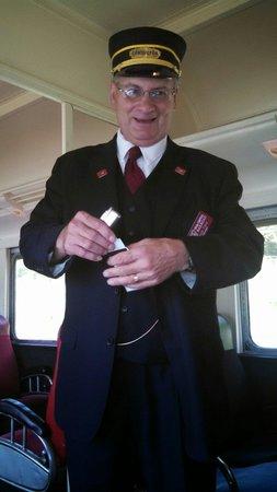 Tioga Central Railroad: Conductor