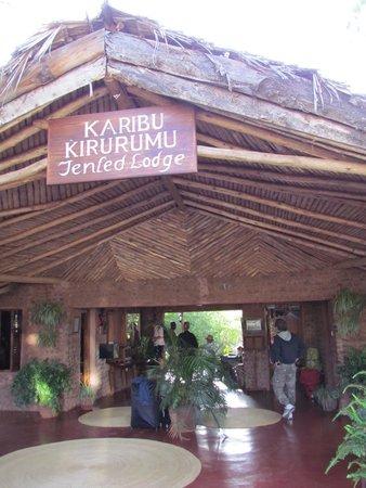 Kirurumu Manyara Lodge : Kirurumu ingresso