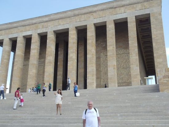 Ankara Citadel (Hisar): Mausoléu de Ataturk