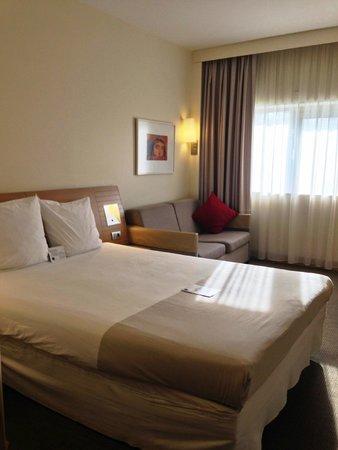 Hotel Novotel Gaziantep : ベッドの寝心地も良かったです