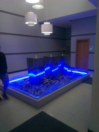 Hotel Terminus : Hall de acesso aos quartos