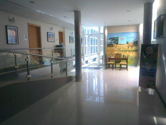 Hotel Terminus : Hall de acesso à zona da piscina