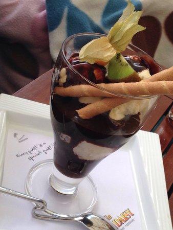 Villa Crazy Daisy : Chocolate ice cream