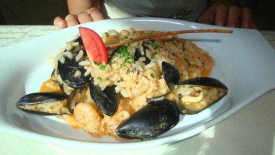 Calabria: Risotto ai frutti di mare