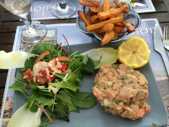 La Garde, Франция: Le Tartare de Saumon