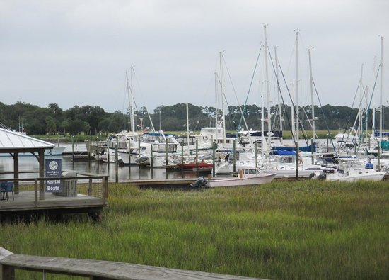 Morningstar Marina at Golden Isles - Boat Rentals : Deep water marina with salt water access