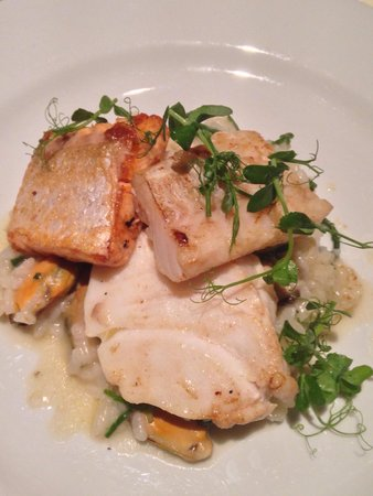 The Inn at Kippen: Seafood and risotto