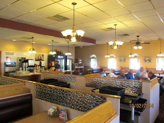 The Court House Diner: Dining area