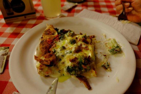 Margherita Pizzeria : Pizza de brócoli