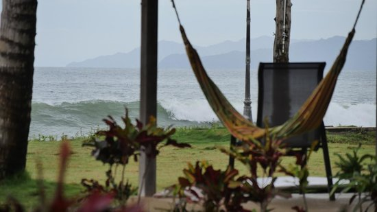 Beach Break Surf Camp and Hotel Playa Venao: View in front of our room
