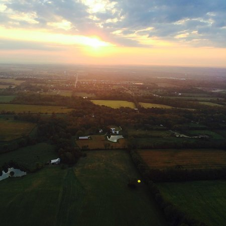 Bella Balloons Hot Air Balloon Co: 10/2/2014 15 year happy anniversary  hot air balloon ride
