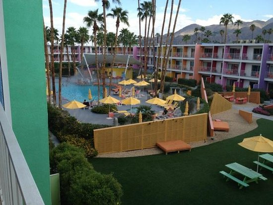 The Saguaro Palm Springs: View from our balcony