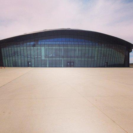 Sierra County, Νέο Μεξικό: Virgin Galactic Hangar