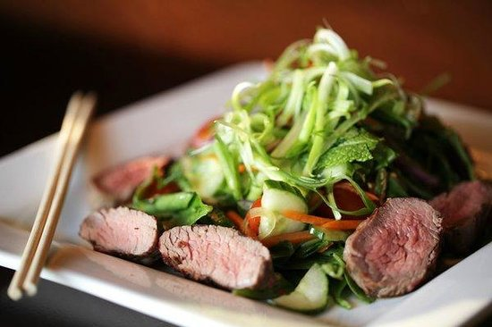 Thai Grilled Steak Salad - Picture of Urban Eatery ...