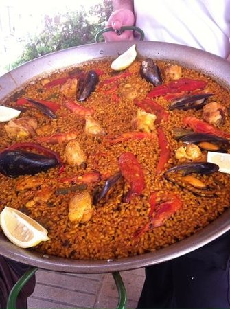 Restaurante Juan Abril - Cocina Española: Arroz mixto